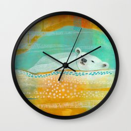 We Are Dreaming of the Stars Wall Clock