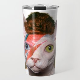 Bowie Cat Travel Mug