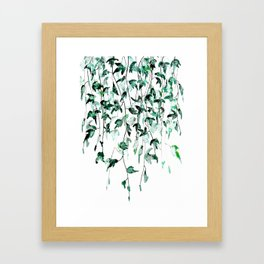 Ivy on the Wall Framed Art Print
