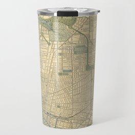 Vintage Map of Buffalo New York (1891) Travel Mug