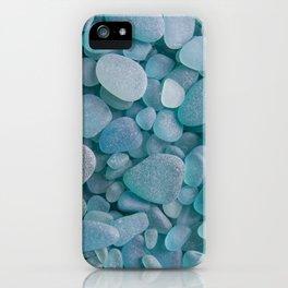 Japanese Sea Glass - Low Tide Blues II iPhone Case