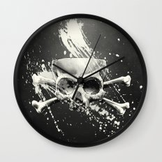 Hidden Lie Wall Clock