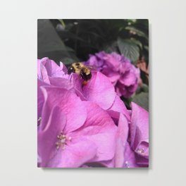 Be a Bee Metal Print