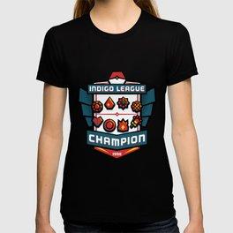 Indigo League Champion - Red Version T-shirt