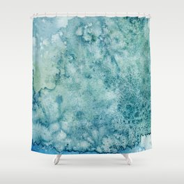 Abstract No. 144 Shower Curtain
