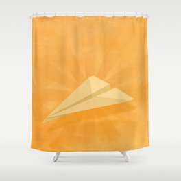 Paper Airplane 116 Shower Curtain