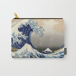 Great Wave Carry-All Pouch
