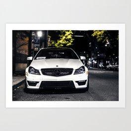 C63 AMG  Art Print