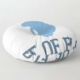 Emerald Coast - Florida. Floor Pillow