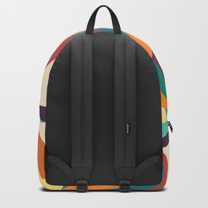 Groovy rainbow of doom Backpack