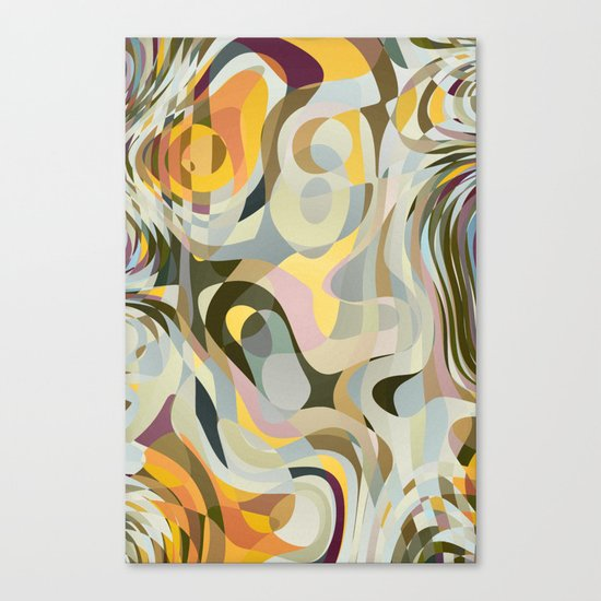 Cold Convergence Canvas Print