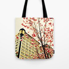 street blossoms Tote Bag