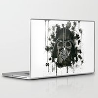 dark side Laptop & iPad Skins featuring Dark side by Gilles Bosquet