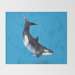 Killer Whale. Throw Blanket