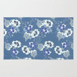 romantic floral Rug