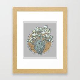 COLORtemple Framed Art Print