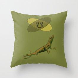 Ketu Lizard Throw Pillow