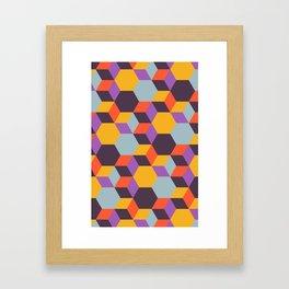 Colmena 32 Framed Art Print