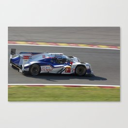 WEC - Spa-Francorchamps 2014 Canvas Print