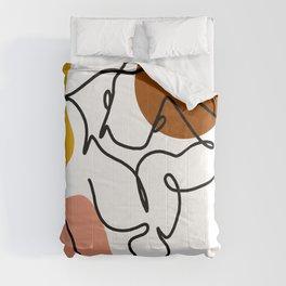 NOODDOOD Lines 4 Comforters