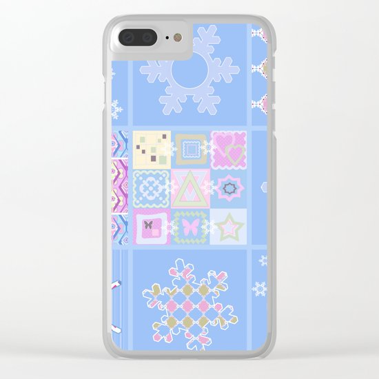 Merry Christmas . New year. Clear iPhone Case