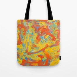 Coarse Brushstrokes Tote Bag