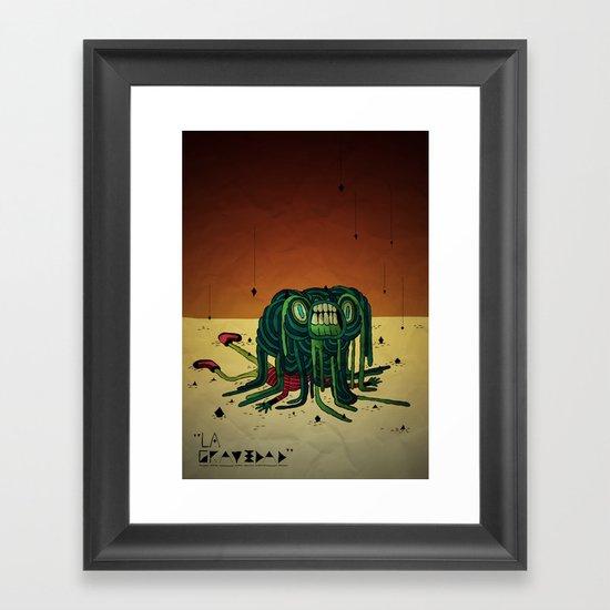 The Gravity Framed Art Print