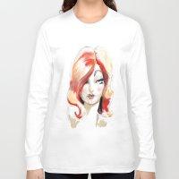 lolita Long Sleeve T-shirts featuring Lolita: Sketch by Jaleesa McLean