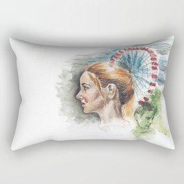 Tris Prior Rectangular Pillow