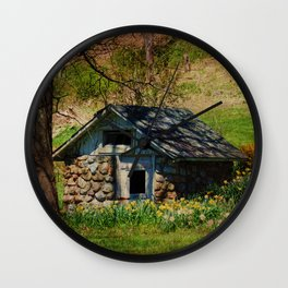 Spring Bursts Forth Wall Clock