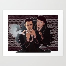 Fantastic Beasts - in/corporeal Art Print