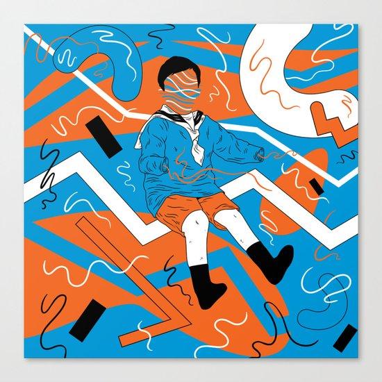 rollin Canvas Print