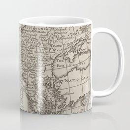 Vintage Map of Europe (1701) Coffee Mug