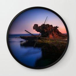 Dragon Rock Wall Clock