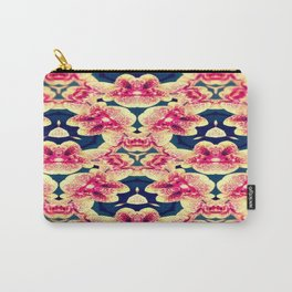 Kaleidoscope Orchids Carry-All Pouch