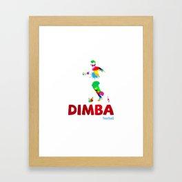 DIMBA Framed Art Print