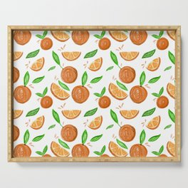 Happy Oranges Serving Tray