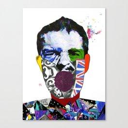 Mr Brandon Flowers, Hey Hot Stuff! Canvas Print
