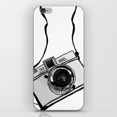White Moodie Lomo iPhone & iPod Skin