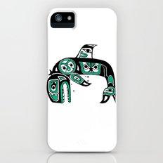 Native American Orca iPhone SE Slim Case