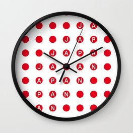 Japan Tokyo Vintage Design Wall Clock