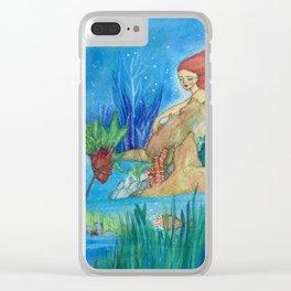 My secret garden Clear iPhone Case