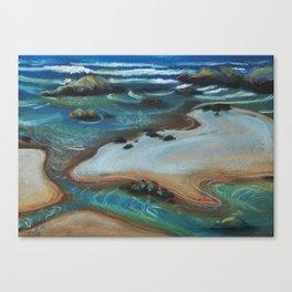 Tidal Channels Canvas Print