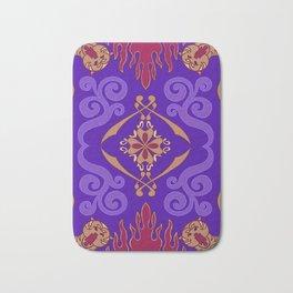 Flying Carpet Aladdin Purple Magic Carpet Bath Mat