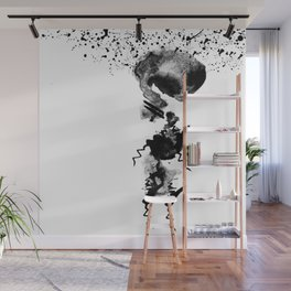 human in shower Wall Mural
