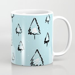 Evrgreen tree pattern Coffee Mug