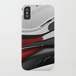 ABSTRACT SNEAKER JUMPMAN 8 iPhone Case