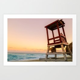 Caribbean Sunrise Art Print