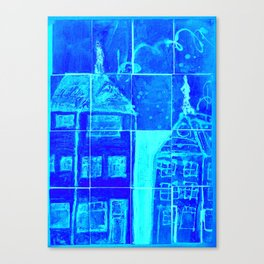 Up On A Roof:# 18 from children will play.  Canvas Print