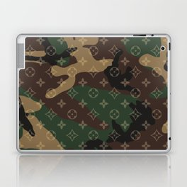 LV Camouflage Laptop & iPad Skin